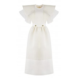 DRESS CA05 DR34 CREAMY WHITE