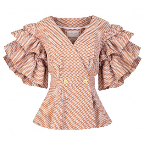 AW19 WO LOOK 26 BLOUSE