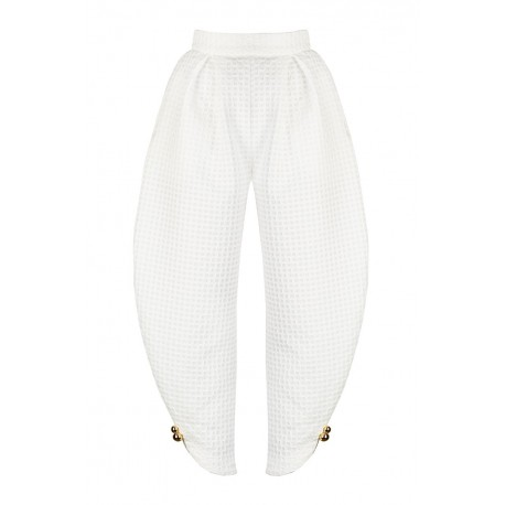 AW15 LOOK 33.1 WHITE PANTS