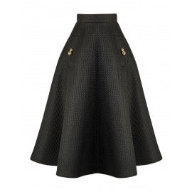 AW15 LOOK 07.1 BLACK SKIRT