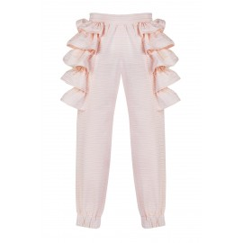 AW15 PETITE LOOK 06.1 PINK STRIPES PANTS