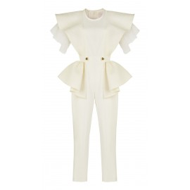 JUMPSUIT CA05 JU19.1 WHITE