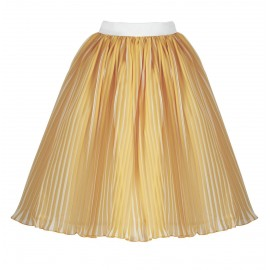 aw15 petite look 04 yellow-cream skirt