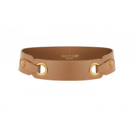 ss21 ac leather belt