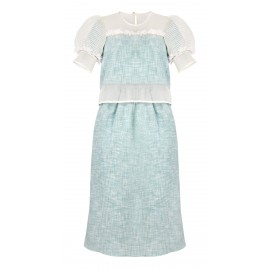 BS06 LOOK 05 DRESS MINT