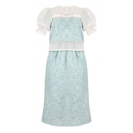ss16 look 5 dress mint