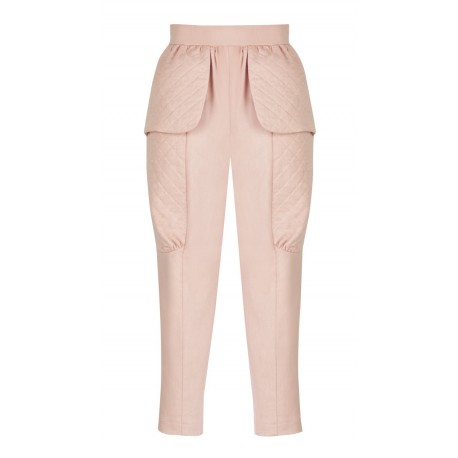 SS16 PETITE LOOK 17 STRAWBERRY AND CREAM PANTS
