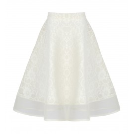 BS06 PETITE LOOK 04 CREAM SKIRT