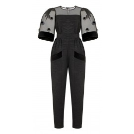 JUMPSUIT CA06 JU37 ETERNITY BLACK