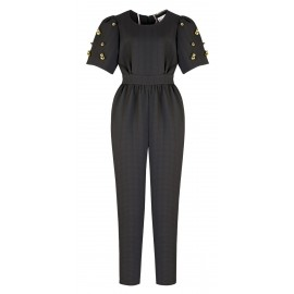 AW15 LOOK 01.1 BLACK JUMPSUIT