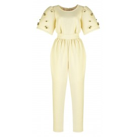 AW15 LOOK 01.3 COCONUT JUMPSUIT