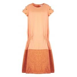 AW15 LOOK 12.9 ORANGE DRESS