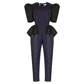 BA06 LOOK 28 NAVY BLUE JUMPSUIT