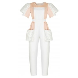 BA06 LOOK 30 CREAM JUMPSUIT