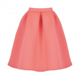 AW15 PETITE LOOK 15 NEON PINK SKIRT