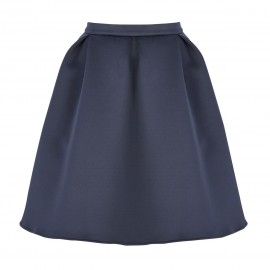 AW15 PETITE LOOK 15 NAVY BLUE SKIRT
