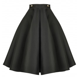 AW15 LOOK 04 BLACK SKIRT