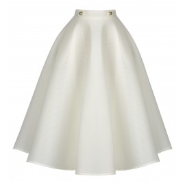 AW15 LOOK 04.5 WHITE SKIRT