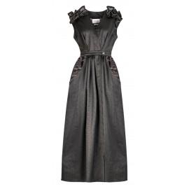 AW16 LOOK 15 BLACK DRESS
