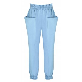 SS14 LOOK 04 BLUE PANTS