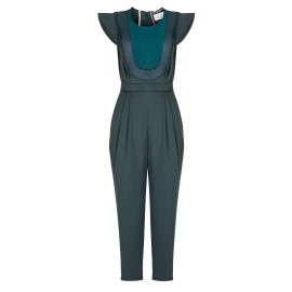 BS04 LOOK 17.2 DARK GREEN JUMPSUIT