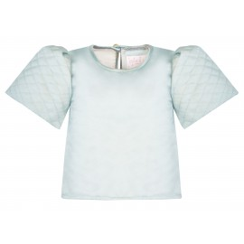 AW15 PETITE LOOK 09 BLUE BLOUSE