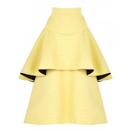 BS06 LOOK 28 YELLOW SKIRT