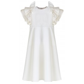 SS17 PETITE LOOK 15.1 CREAM DRESS