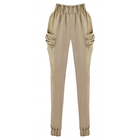 SS15 LOOK 15 PANTS BROWN