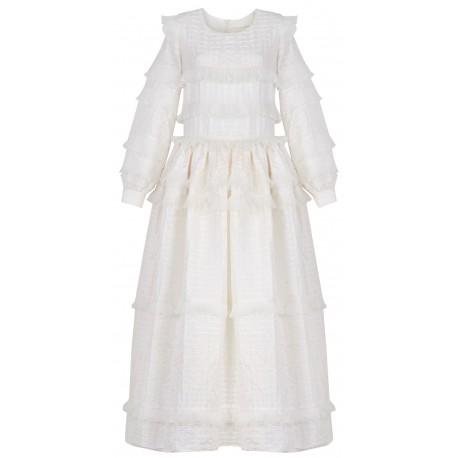 SS18 LOOK 10 WOMAN CREAMY DRESS