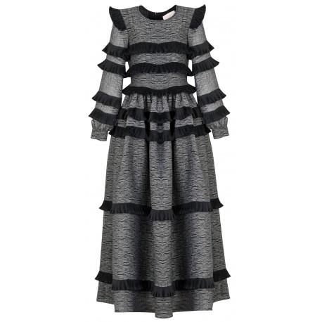 SS18 LOOK 10 WOMAN WEAVY DRESS