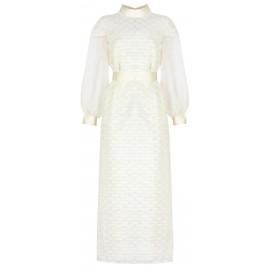 ss18 look 15 woman creamy dress