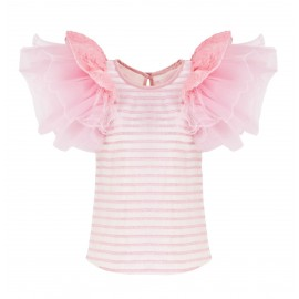 SS15 LOOK 05 PINK BLOUSE