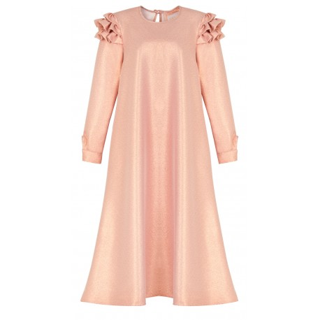 SS18 WO LOOK 22 COPPER DRESS