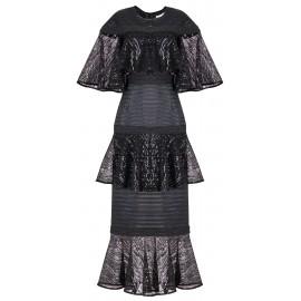 ss18 wo look 23 black dress