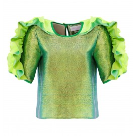 BS05 LOOK 26 BLOUSE LIGHT GREEN
