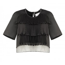 SS15 LOOK 07 BLACK BLOUSE