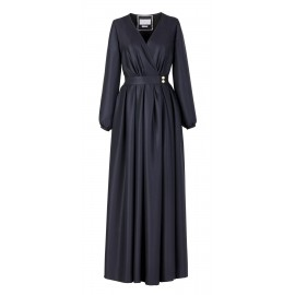 Special Ramadan Navy Blue Dress