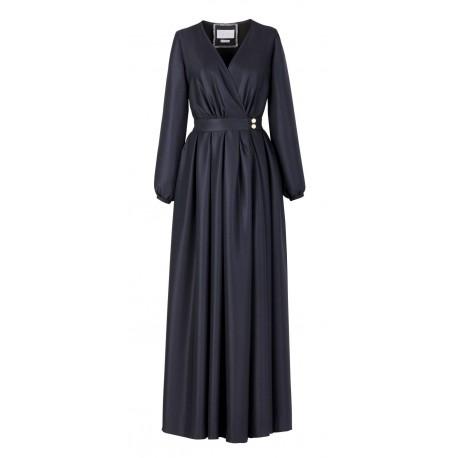 Special Ramadan Navy Blue Dress