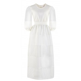 DRESS CL DR10 CREAM