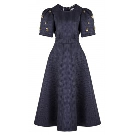 DRESS CA05 DR09 NAVY BLUE